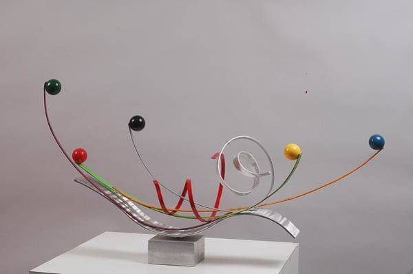 Interior Wall Art - Sculpture - Touch To Play - Edition 2 by Mac Worthington