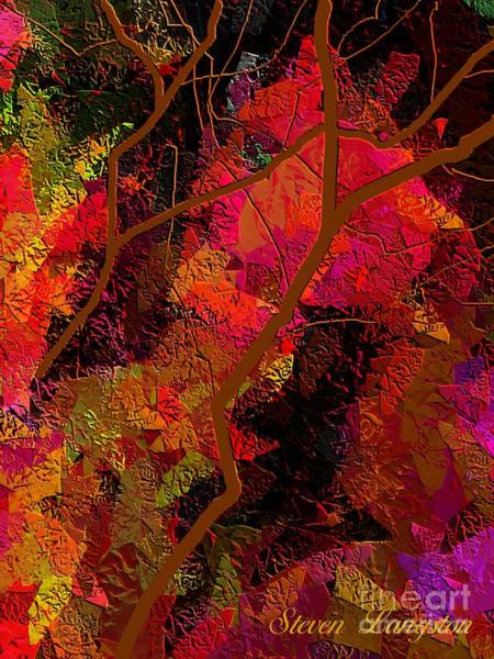 Touching Branches Art Print