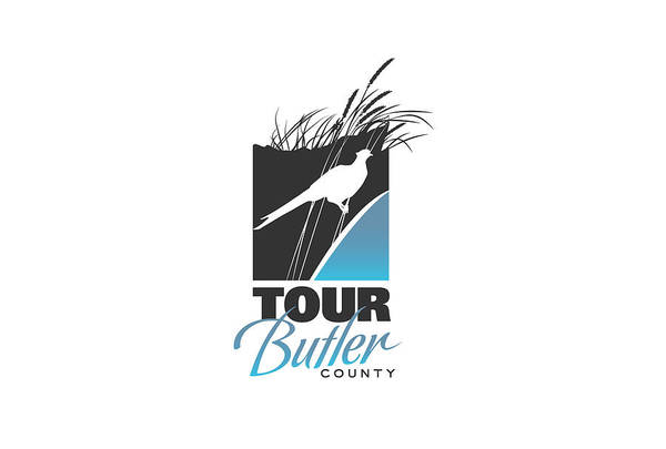 Pheasant Digital Art - Tour Butler County - Logo by Ashley Cameron