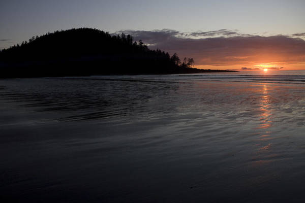Queen Charlotte Islands Wall Art - Photograph - Tow Hill And North Beach At Sunset by Taylor S. Kennedy