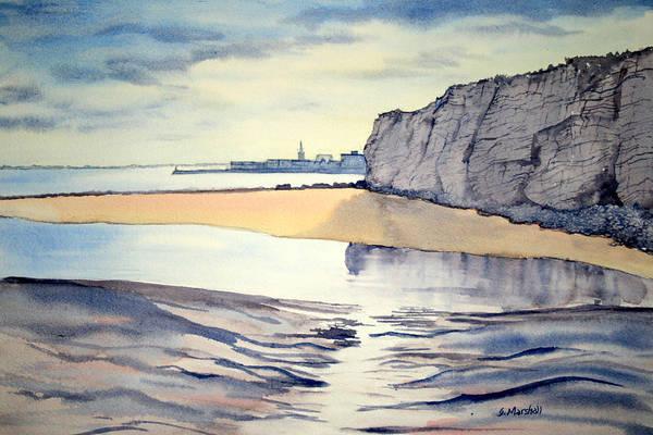 Painting - Towards Bridlington From Dane's Dyke by Glenn Marshall