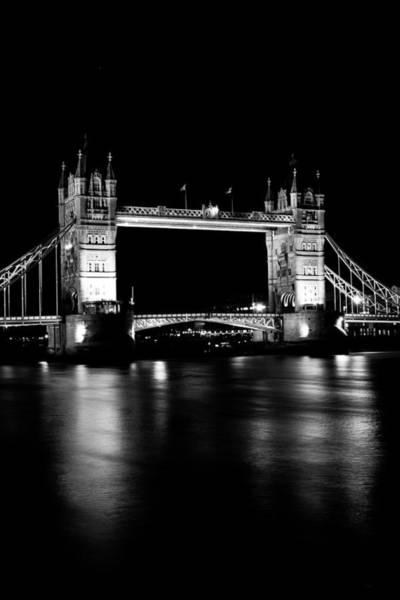 Wall Art - Photograph - Tower Bridge At Night by David Pyatt