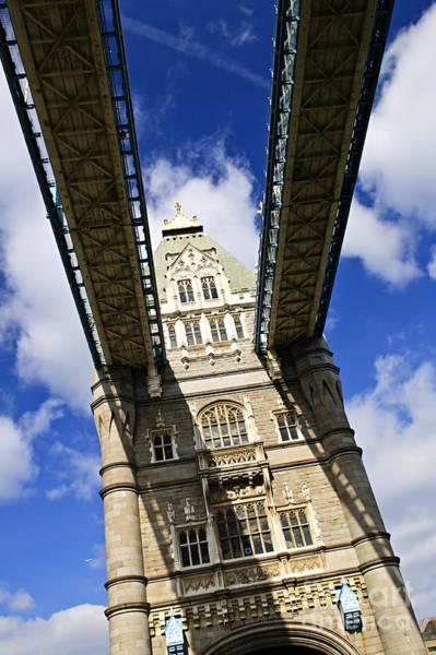 Wall Art - Photograph - Tower Bridge In London by Elena Elisseeva