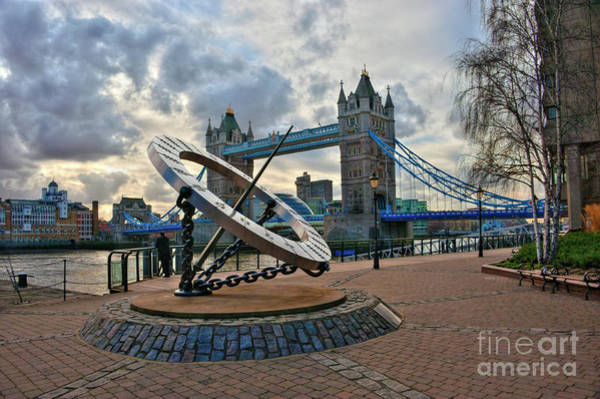 Wall Art - Photograph - Tower Bridge London by Donald Davis