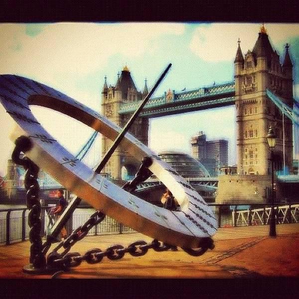Wall Art - Photograph - Tower Bridge #london by Gianluca Sommella