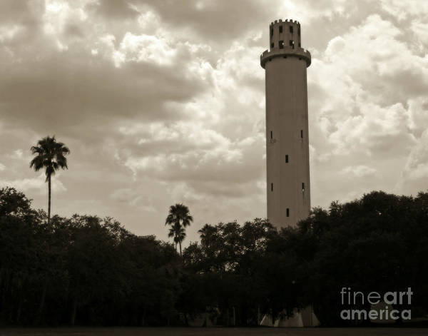 Wall Art - Photograph - Tower Of Tampa Vintage by Suzanne Conyers