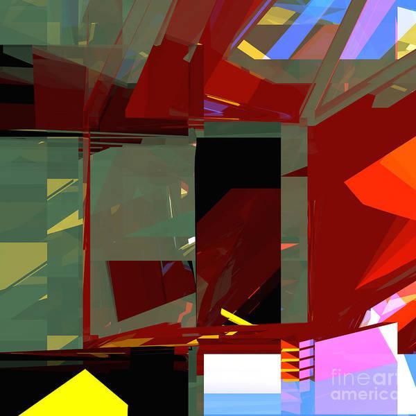 Digital Art - Tower Series 31 War by Russell Kightley