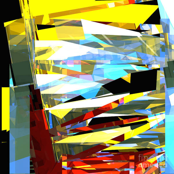 Digital Art - Tower Series 40 by Russell Kightley