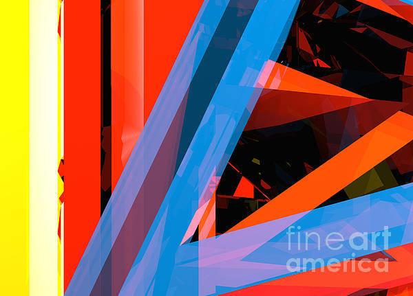 Digital Art - Tower Series 5 by Russell Kightley