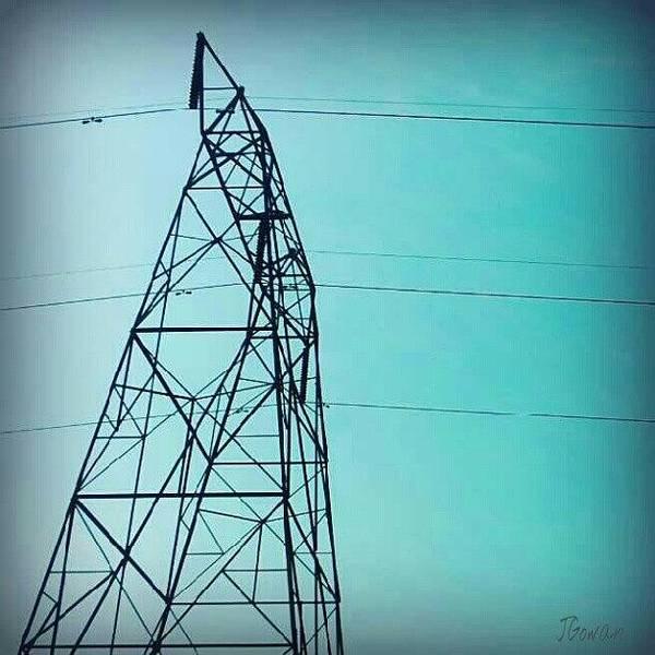 Minimalism Photograph - Tower. #tower #bluesky #blue by Jess Gowan