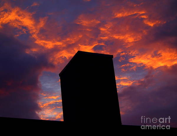 Cantrell Wall Art - Photograph - Towering Inferno  by Tammy Cantrell