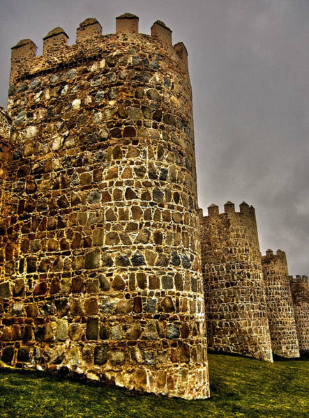 Photograph - Towers Of Avila - Spain by Juergen Weiss