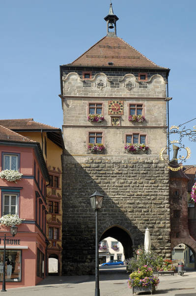 Photograph - Town Gate Schwarzes Tor In Rottweil Germany by Matthias Hauser