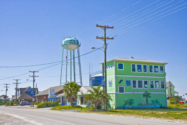 Wall Art - Photograph - Town Of Topsail Water Tower by Betsy Knapp