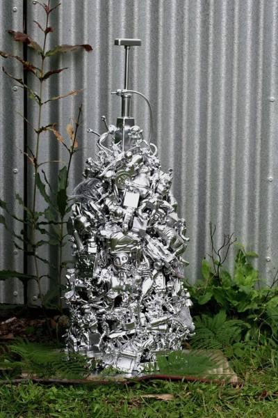 Wall Art - Sculpture - Toy Explosion by Karen Elzinga