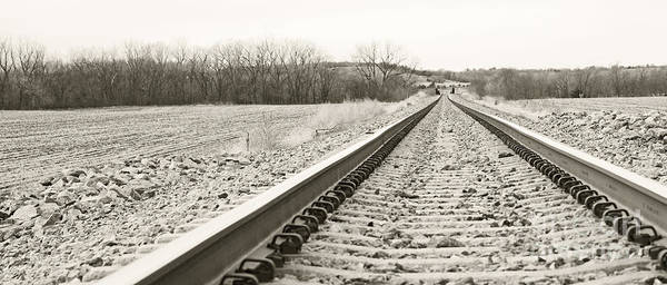 Photograph - Steel Rail by Pam  Holdsworth