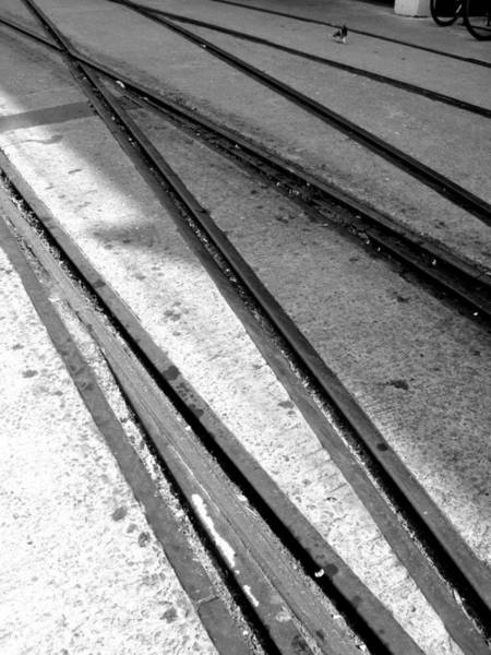 Photograph - Tracks by Roberto Alamino