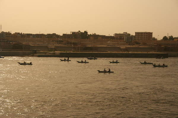 Wall Art - Photograph - Traffic In The Nile by William Vann