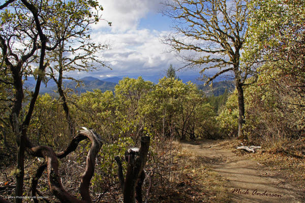 Rogue Valley Photograph - Trail At Cathedral Hills by Mick Anderson