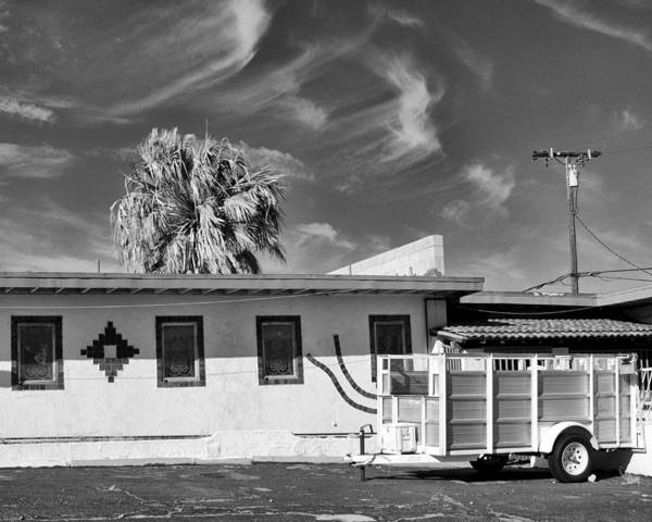 Wall Art - Photograph - Trailer Town Bw by William Dey