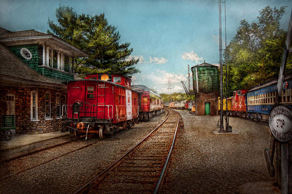 Photograph - Train - Caboose - Tickets Please by Mike Savad