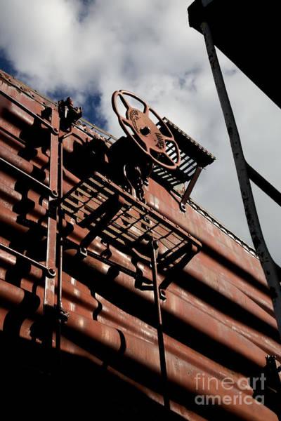 Photograph - Train Car by Leslie Leda