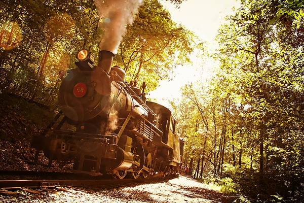 Photograph - Trains A Coming by Alice Gipson