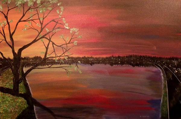 Lost River State Park Wall Art - Painting - Tranquility by Mark Moore