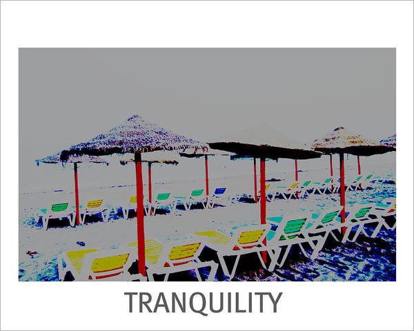 Photograph - Tranquility Motivational by John Shiron