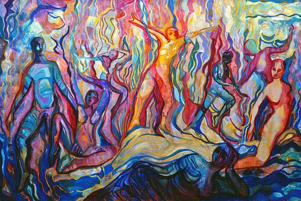 Painting - Transformance by Nancy Wait