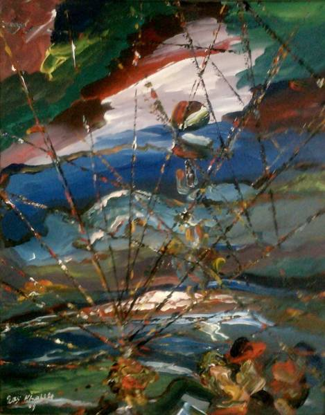 Painting - Trapped by Ray Khalife