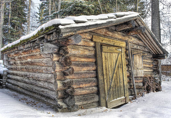 Payers Wall Art - Photograph - Trappers Cabin by Thomas Payer