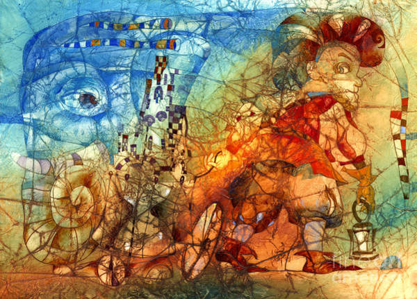 Wall Art - Mixed Media - Traveler  by Svetlana and Sabir Gadghievs