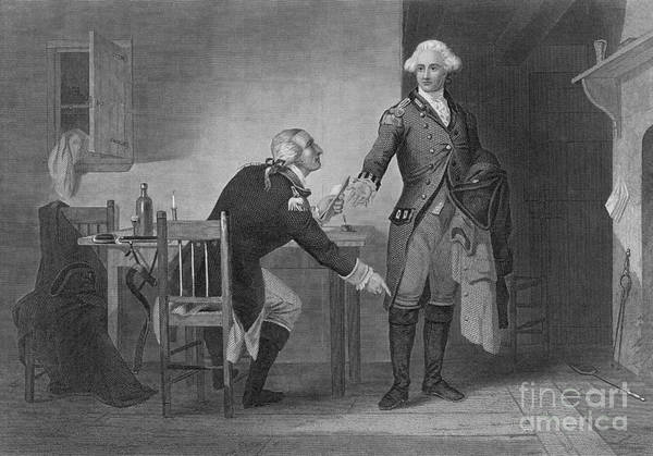 1741 Photograph - Treason Of Benedict Arnold, 1780 by Photo Researchers