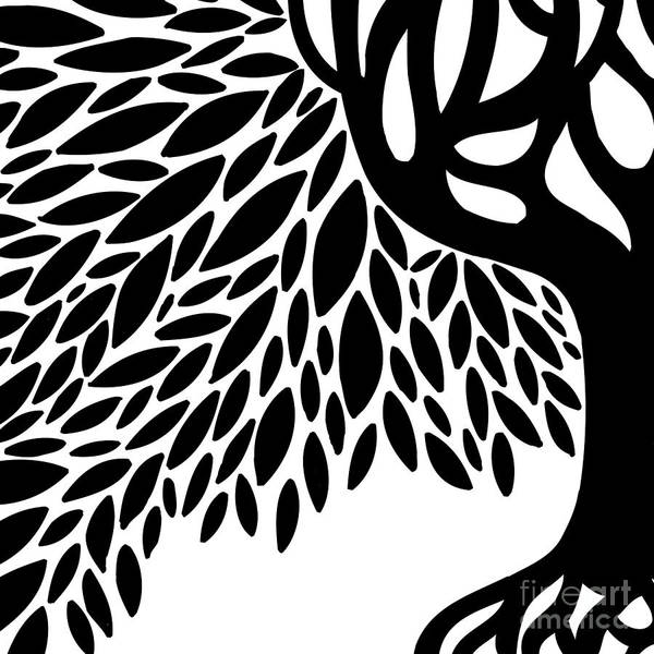 Sharpie Wall Art - Photograph - Tree Graphic by HD Connelly
