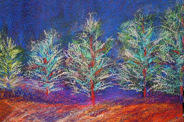 Painting - Tree Line by Karin Eisermann