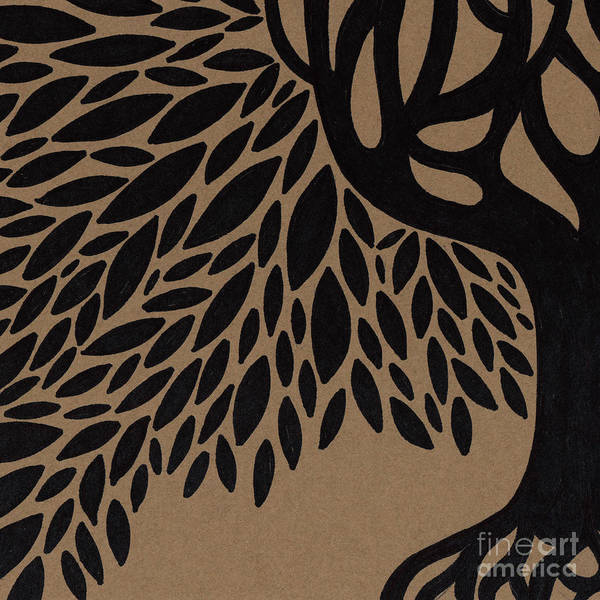 Wall Art - Drawing - Tree Of Life by HD Connelly