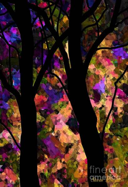 Wall Art - Painting - Tree Time by Steven Lebron Langston