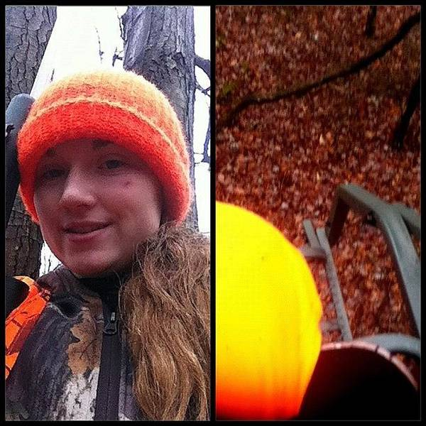 Rifles Photograph - Treestand Today! Maybe Ill Get by Alexx Grumski