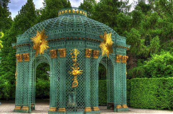 Garten Wall Art - Photograph - Trellis At Schloss Sanssouci by Jon Berghoff