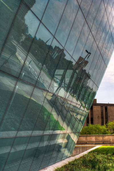 Photograph - Triangles And Reflections by Dennis Dame