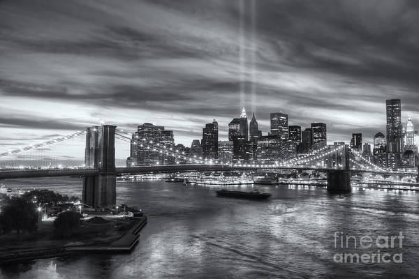 Photograph - Tribute In Light V by Clarence Holmes
