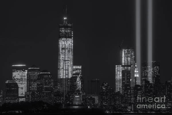 Photograph - Tribute In Light Viii by Clarence Holmes