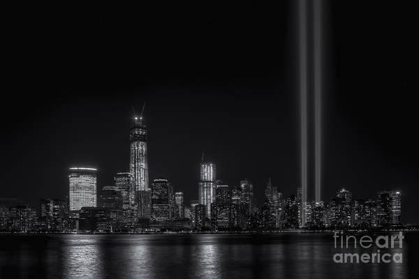 Photograph - Tribute In Light X by Clarence Holmes