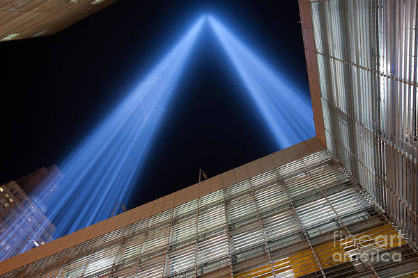 Photograph - Tribute In Light Xv by Clarence Holmes