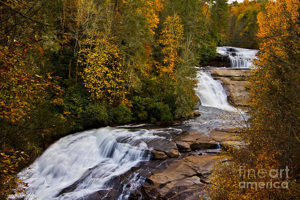Wall Art - Photograph - Triple Falls by Matthew Trudeau