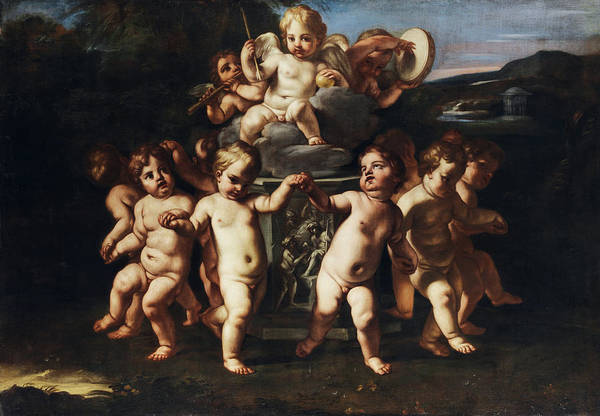 Wall Art - Painting - Triumph Of Cupid by Carlo Cignani