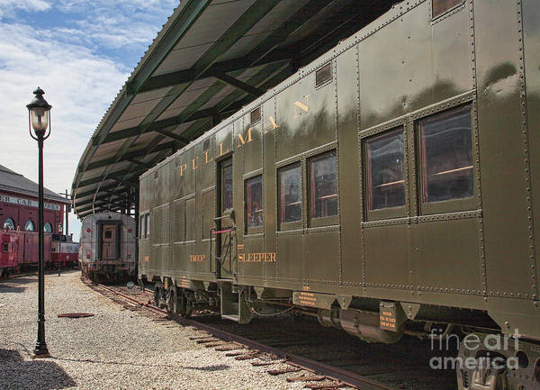Museum Wall Art - Photograph - Troop Sleeper Car At The B And O Railroad Museum In Baltimore Maryland by William Kuta
