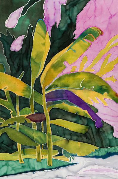 Wall Art - Painting - Tropical Beach by Pam Munn