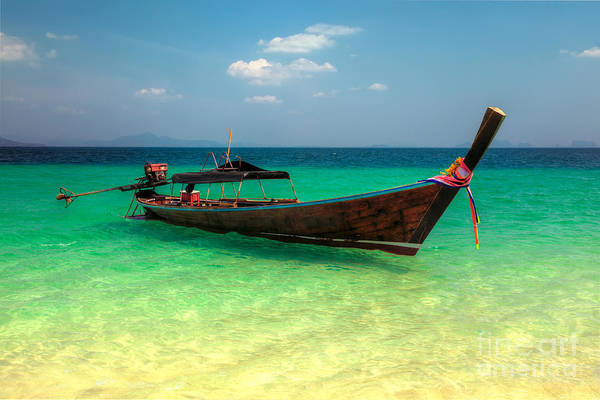 Photograph - Tropical Boat by Adrian Evans